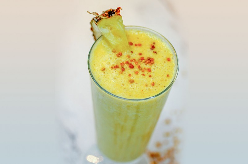 Pina Colada Super Nutrient Smoothie