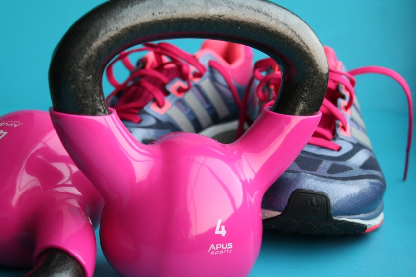 Workout nutrition kettlebell