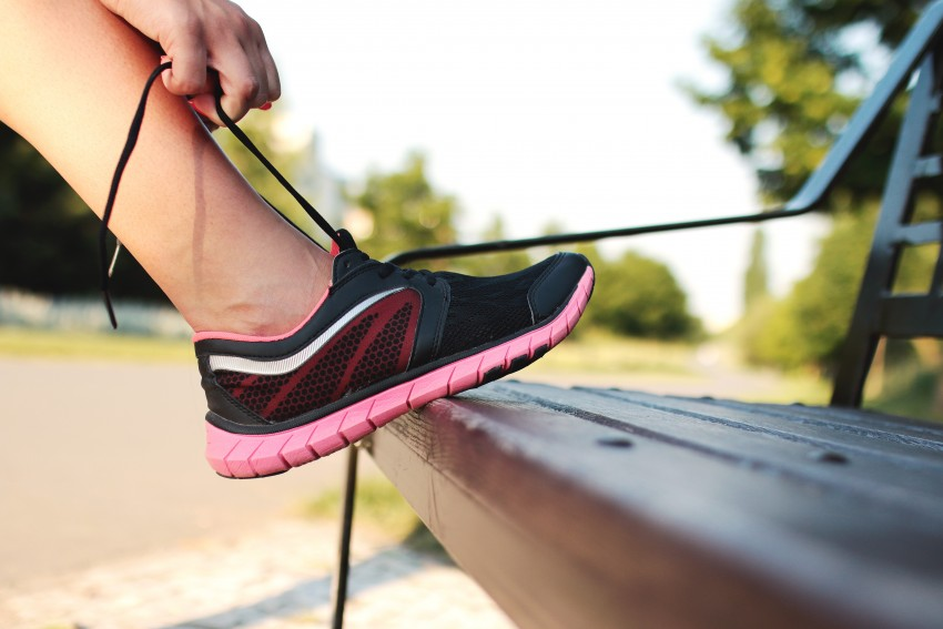 workout nutrition running shoes