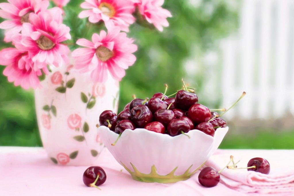 tips for healthy eating cherries