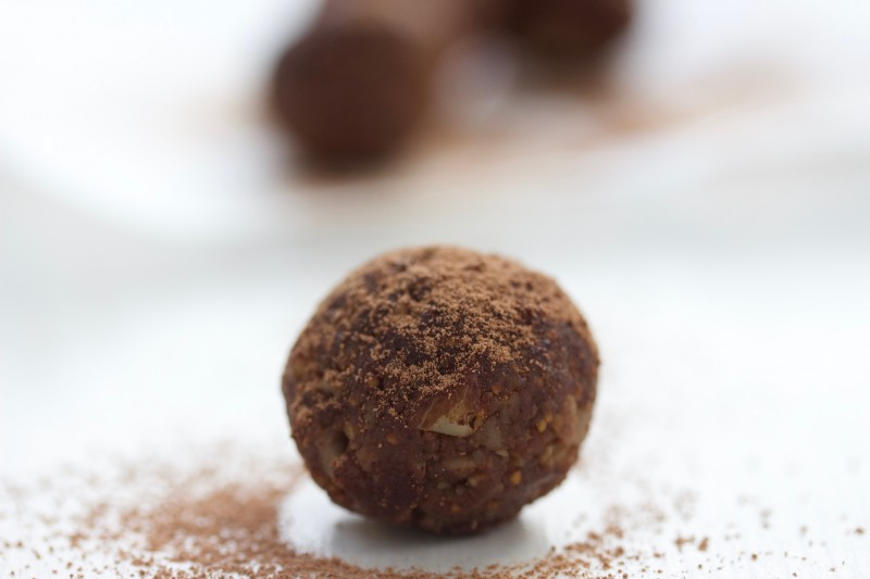 Brazil and Fig Truffles