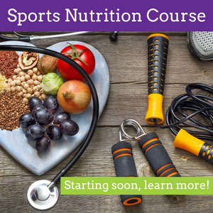 Sports Nutrition Course Sidebar
