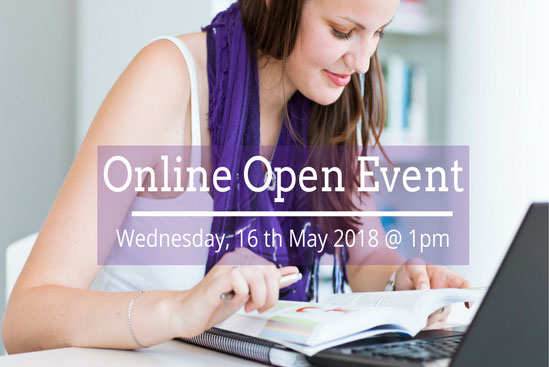 Online Open Event May 2018