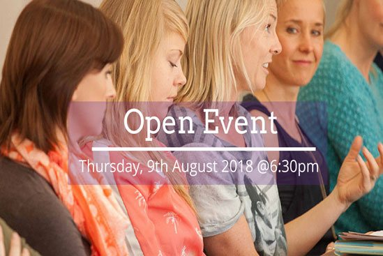 Open Event August 2018