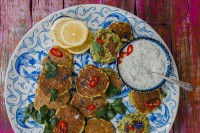I first fell in love with these moorish golden fritters when I lived in Sydney, Australia many moons ago. Fantastically light and crispy they are best eaten straight from the pan.