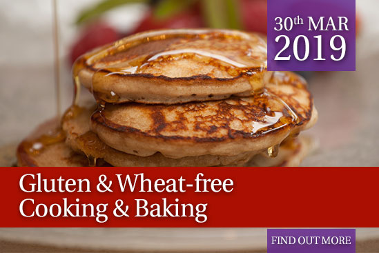 GLUTEN AND WHEAT FREE COOKING CLASS