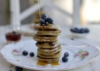 These gorgeous little pancakes are gluten free, dairy free and really simple to make.