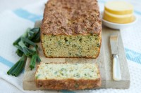 Cheese, Spring Onion and Garlic Low Carb Soda Bread