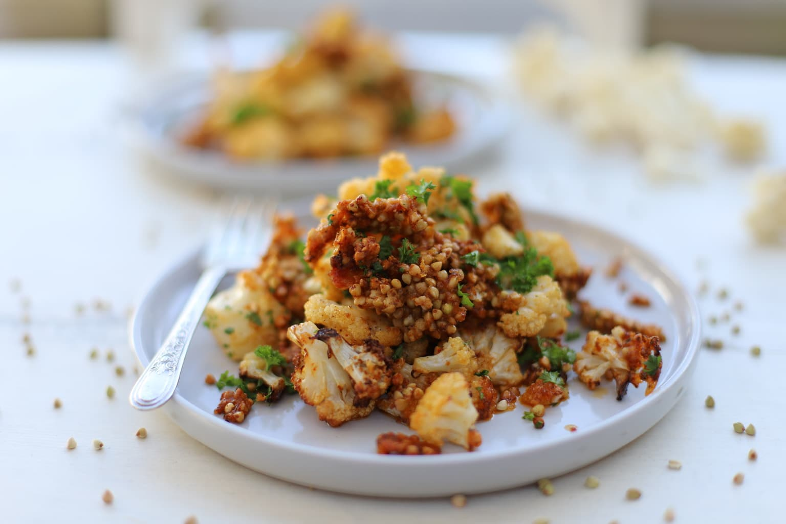 Cauliflower and Buckwheat Salad