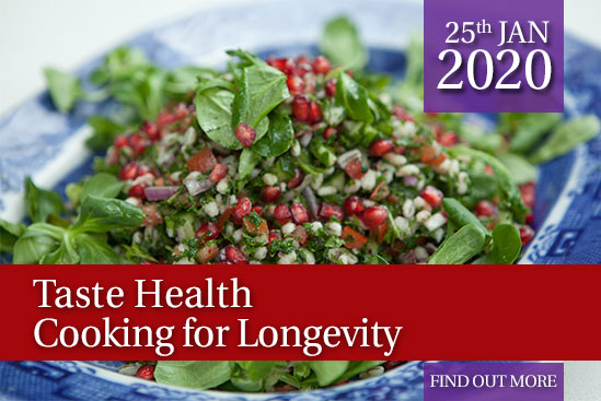 Taste Health – Cooking for Longevity NEW*