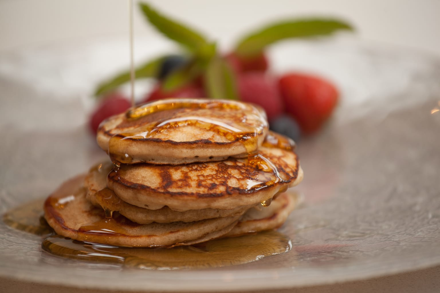 Gluten Free Buckwheat and Buttermilk Pancakes